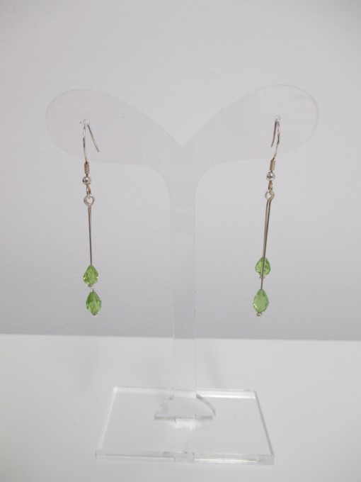 Peridot earrings‏