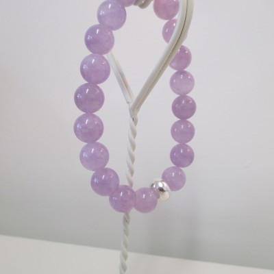 Lavender amethyst bracelet‏ featured