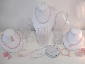 Rose quartz collection