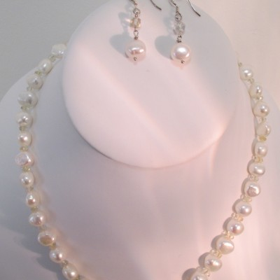 Pearl and Citrine‏ Set