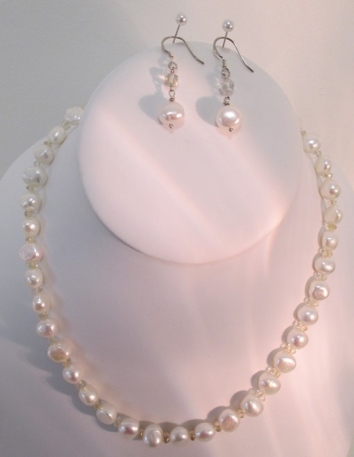 Pearl and Citrine Set
