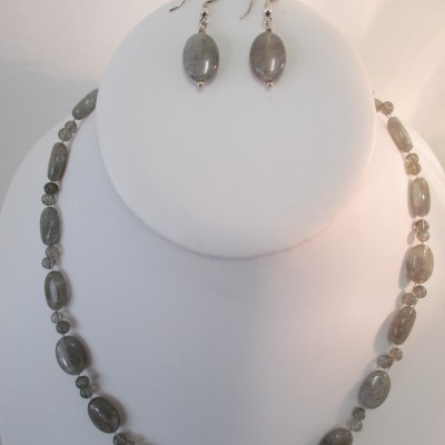 Labradorite set (ovals and rounds)‏