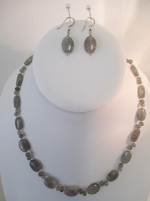 Labradorite set (ovals and rounds)