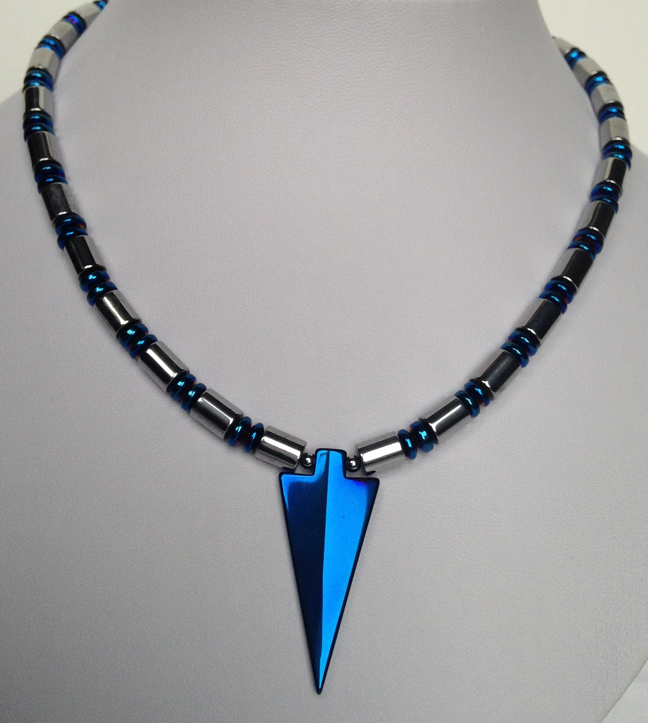 jewellery faceted hematite gemstone delicate facettiert d timeless haematitkette zart necklace schmuckwerk jewelry