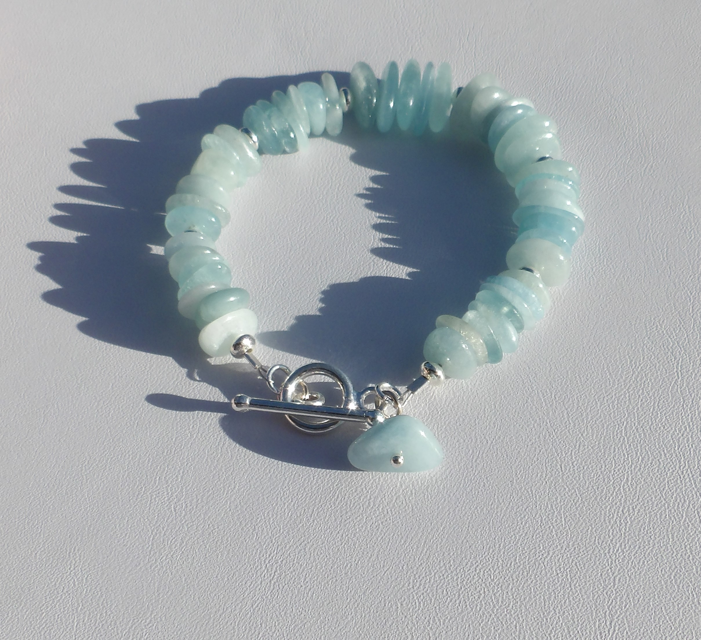 ommo gemstone d mala blue shambhala aquamarine her s quartz and bracelet beads product silver chakra page rose beaded brazilian for
